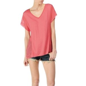 Rag & Bone Helena Coral Top